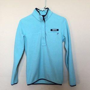 Columbia PFG mint green pullover sz XS